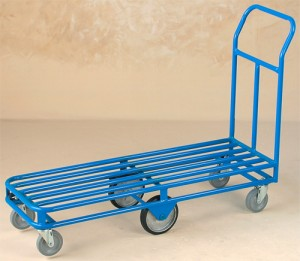 Stock Carts, Stocking Carts, Stocking Cart Wheels