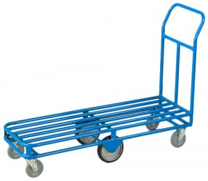 6 wheel stocking cart