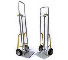 Pair of hand trucks