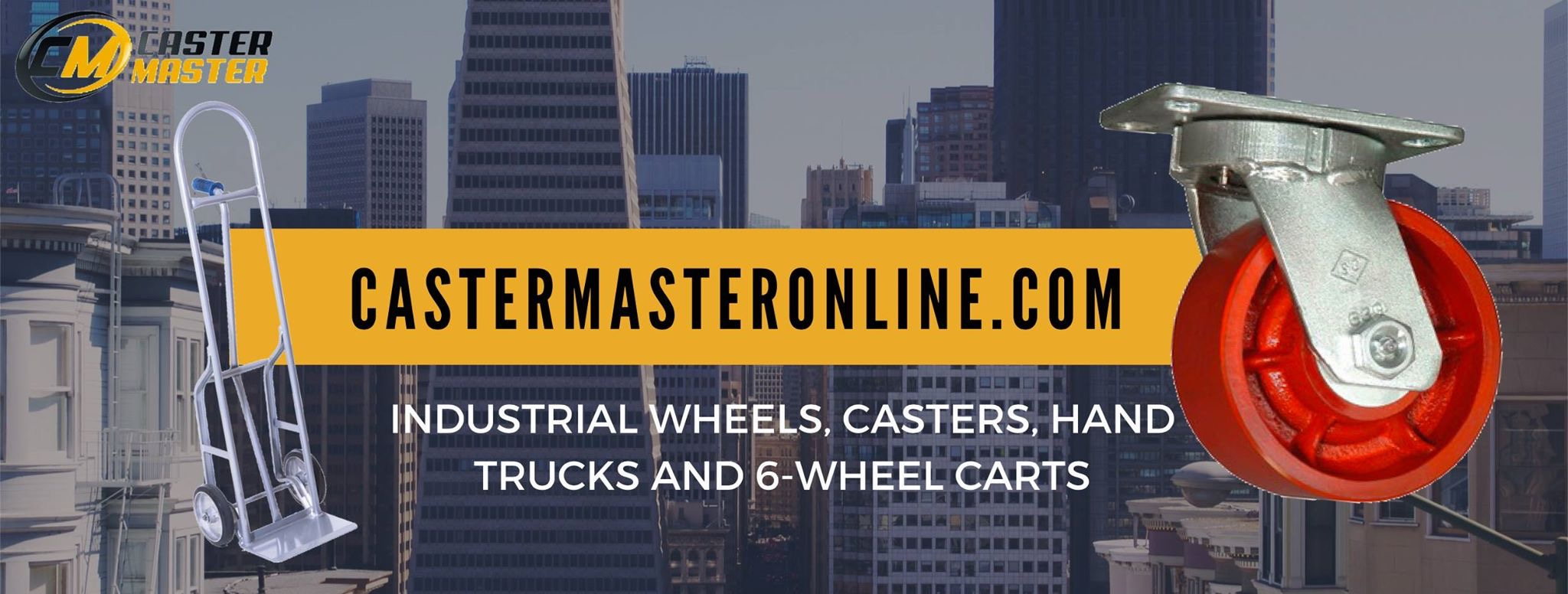 Caster Master Online - Industrial Wheels, Casters, Hand Trucks, and 6-Wheel Carts